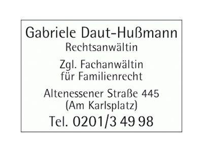 Rechtsanwältin Gabriele Daut-Hußmann