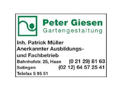 Gartengestaltung P. Giesen - Inh. P. Müller