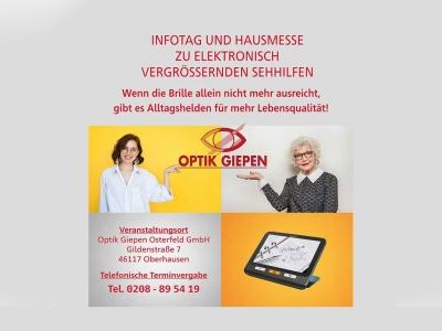 Optik Giepen - Infotag und Hausmesse