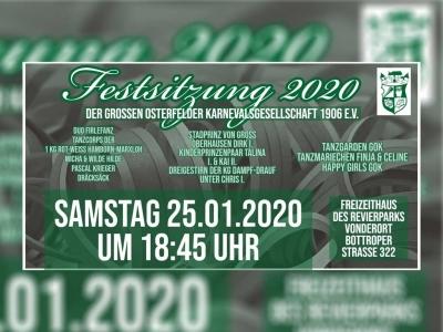 Festsitzung 2020
