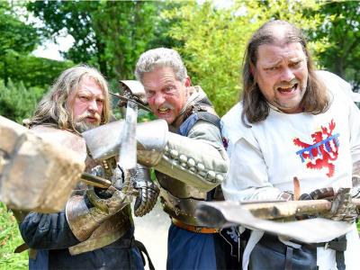Pfingst-Spektakulum mit Ritterturnier