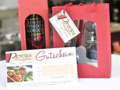 Geschenkgutschein von Pereira Manufaktur