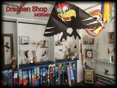 die GLASKUNST WERKSTATT seit 1984 & Drachenshop Mülheim & Tiffany Klinik & Gartenkunst Mülheim