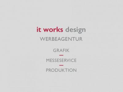 it works design WERBEAGENTUR