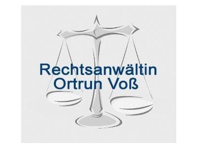 Rechtsanwältin Ortrun Voß
