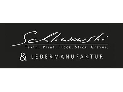 Schliwowski - Textil, Print, Flock, Stick, Gravur & Ledermanufaktur