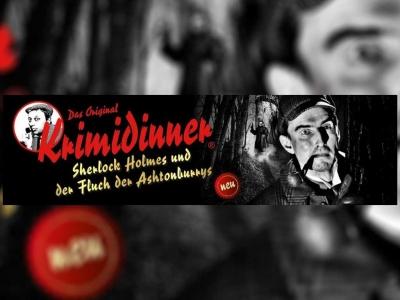 """Das originale Krimidinner: """"Sherlock Holmes und der Fluch der Ashtonburrys"""""""