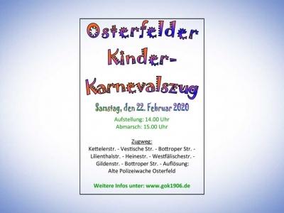 Osterfelder Kinder- Karnevalszug