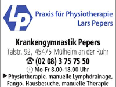 Praxis für Physiotherapie Lars Pepers