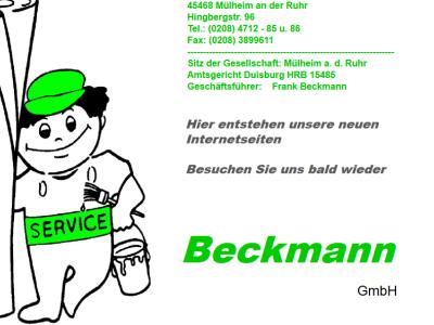 Beckmann GmbH Meisterbetrieb