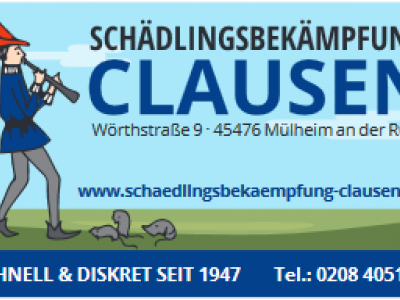 Schädlingsbekämpfung Clausen GbR