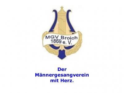 """MGV """"Sängervereinigung 1869"""" e.V. Mülheim an der Ruhr – Broich"""
