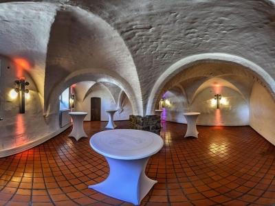 Schlossgewölbe im Schloß Broich