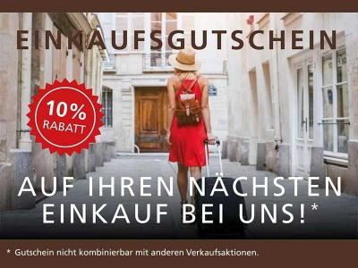 Einkaufsgutschein - 10% Rabatt