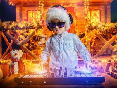 Kinderdisco Weihnachtsdisco