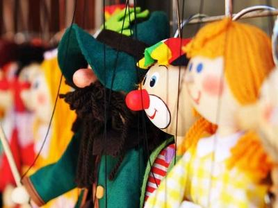 Seifenblasen Figurentheater - Charlotte und die Weihnachtsgans