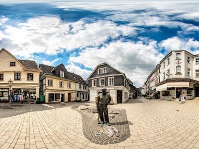 Der Heumarkt in Wülfrath
