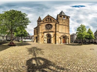 Historischer Marktplatz der Stadt Mettmann