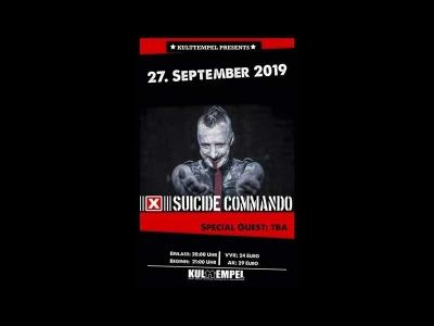 LIVE Suicide Commando