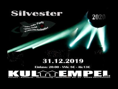 Silvester (70s/80s Party)