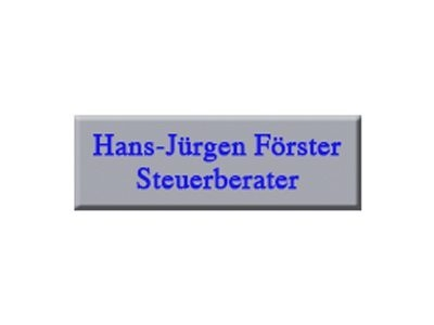 Hans Jürgen Förster Steuerberater/staatl. gepr. Betriebswirt